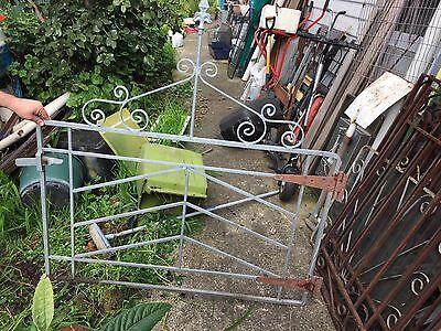 Galvanised Vintage Front Gates Inc Latch And Hinges