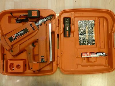Paslode  Cordless  Framing Nailer & 2 battery and  charger and carry case