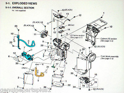 Genuine   Parts For  Sony Dcr-Pc1000