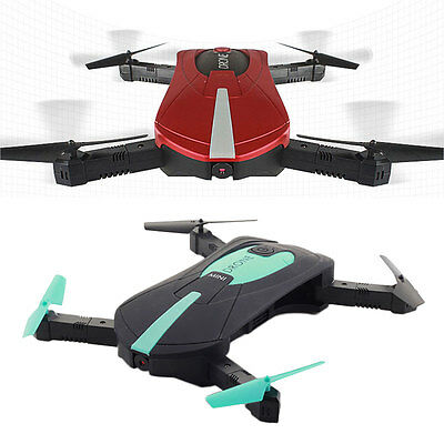 Foldable RC Quadcopter Hold Camera WIFI Control FPV Pocket JD-18 Altitude Drone