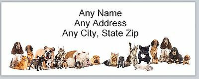 Personalized Address Labels Country Dogs Buy 3 get 1 free (ac755)