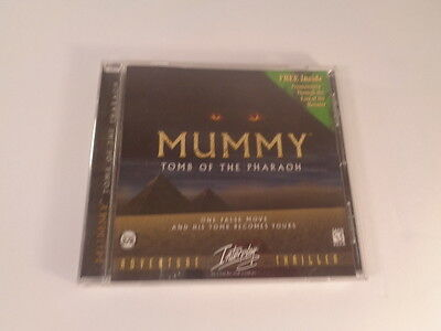 Mummy Tomb of the Pharaoh PC Video Game 1996 Disc Jewel Case Manual