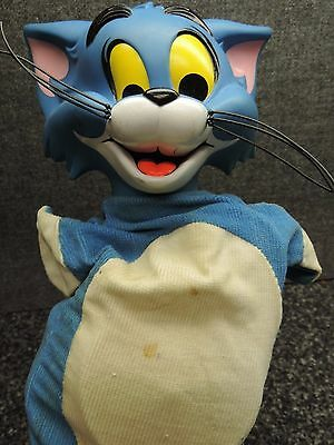 Mattel Tom and Jerry Tom Cat Talking Handpuppet Not Working 1965