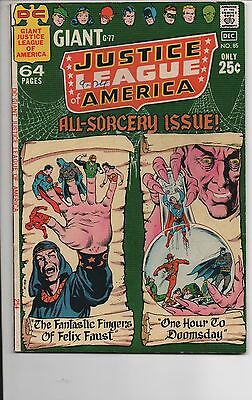 Justice League Of America #85 High Grade Batman Superman Flash 64 Pages