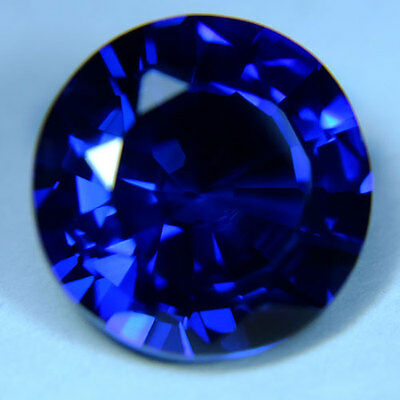 7.15ct.RAVISHING BLUE SAPPHIRE ROUND LOOSE GEMSTONE