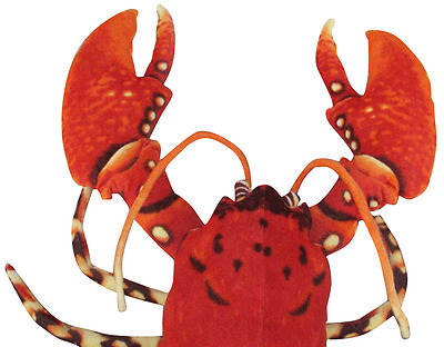 Kids Cute Lobster red plush Doll plush toys Stuffed Toy Christmas Gift