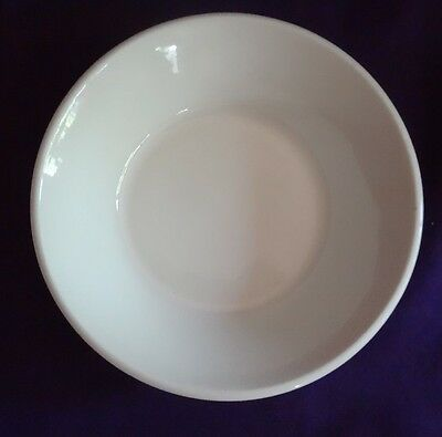 """Stonehenge Midwinter white England 6 1/2"""" salad bowl replacement EXCELLENT"""