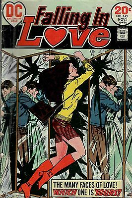 Falling In Love. Low Grade G Condition. #143  DC  Romance  Comic