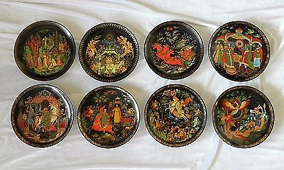 RUSSIAN TIANEX PLATES Lot of 8 NICE COLLECTION
