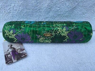 AMRITA SINGH Green Floral Bangle Case *NWT* $50 Travel Storage