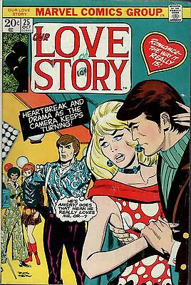 Our Love Story.  Low Grade G Condition. #25   Marvel  Romance  Comic