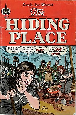 The Hiding Place. Very Nice Condition. 1973  Spire  Christian  Comic  Book