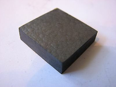 """Pyrolytic Graphite Block Roughly 1"""" X 1"""" X >1/4"""""""