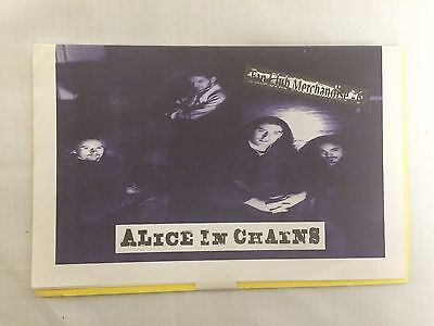 ALICE IN CHAINS - rare FANCLUB LETTER and Christmas POSTCARD - PEARL JAM
