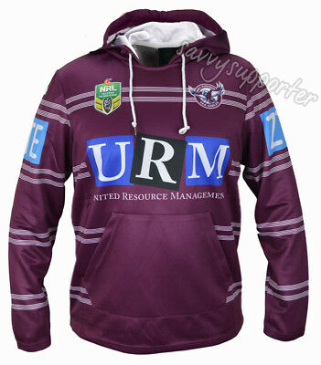 Manly Sea Eagles 2017 NRL Jersey Hoodie Adults and Kids Sizes BNWT Hoody
