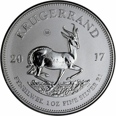 South Africa 2017 1oz Silver Krugerrand Premium Uncirculated - FIRST RELEASE!