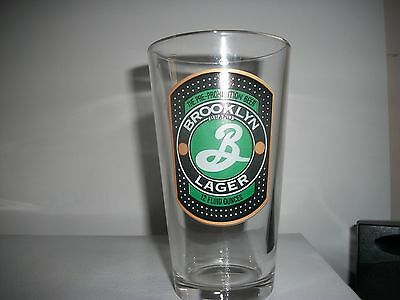 Brooklyn Lager- Beer Glass