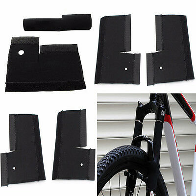 1Pair Bicycle Frame Chain Protector Mountain Bike Stay Front Fork Protection  GD