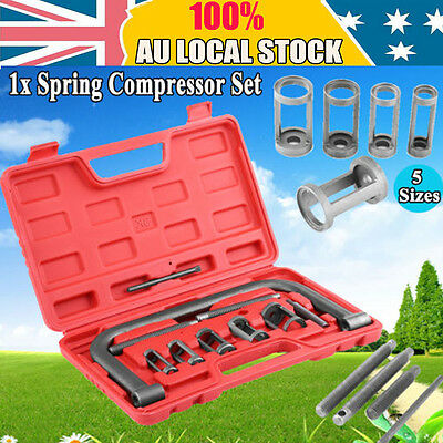 10pcs Valve Spring Compressor Tool Kit for Car Motorcycle Petrol Engines Vehicle