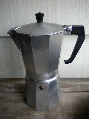 Nice Vintage Italian Stovetop Stove Top Espresso Coffee Maker Made In Italy