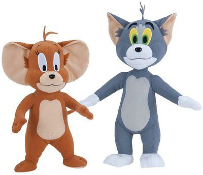 """Tom and Jerry Deluxe 14"""" Plush Set"""