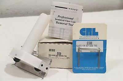 CRL Laurence EGB EG9 Professional Insulated Glass Removal Tool Unit with Blades
