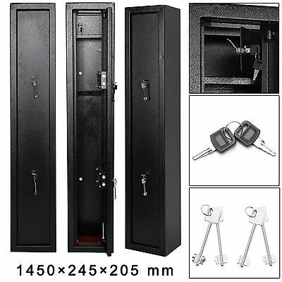 Extra Large Gun 3 Scoped Cabinet Safe Inner Ammo Lockbox Shotgun Hunt Rifle