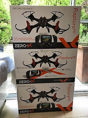 New Zero-X Rapture HD Drone - BRAND NEW