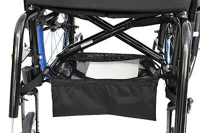 Mobility Under shelf storage bag mesh for Wheelchairs