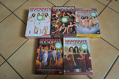DVD Desperate housewives saison 1 à 5 NEUF sous blister