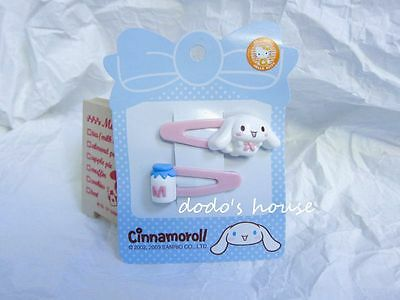 Sanrio Japan Cinnamoroll Beauty Hair Clips