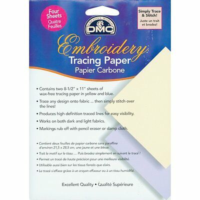 """Embroidery Tracing Paper-8.5""""X11"""" 4/Pkg"""