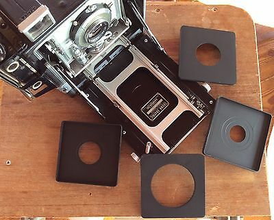 12 lensboards Graflex Speed Graphic 4x5 Large Format Camera Copal #0&#1 Shutter