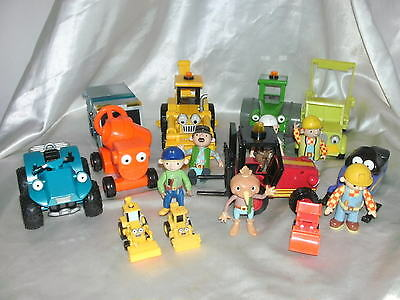 Bob The Builder Figures And Vehicles Bundle