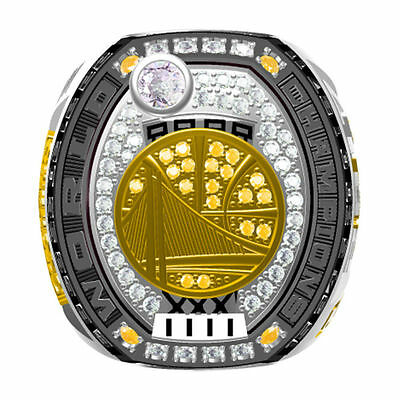 2017 Golden State Warriors National Basketball World Championship Ring For Curry