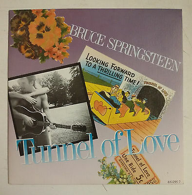 "Bruce Springsteen Tunnel Of Love Single 7"" Spain original 1988"