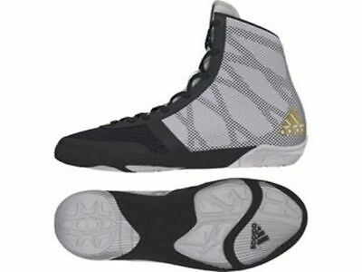 Adidas Wrestling Pretereo 3 Grey Gold Boots Shoes Adults - BB3298