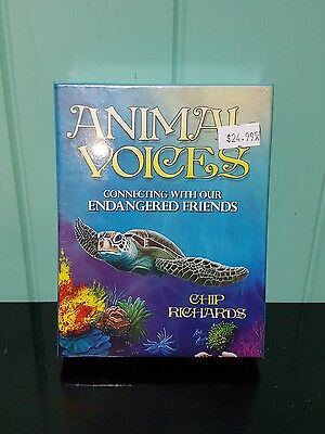 """animal Voices"" By Chip Richards 31 Cards + Guidebook (Oracle)"