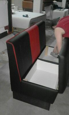 Restaurant booth & bench seating furniture, bar, cafe, club, pub,kitchen,storage