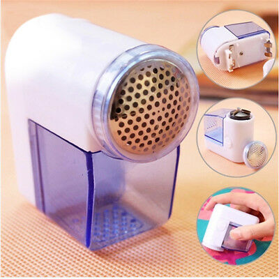 Mini Battery Operated Lint Remover Clothing Fabric Shaver Fuzz Removing Machine