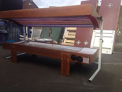 14T Pine Laydown 100&80watt sunbed solarium mess for del£ most of uk 10349