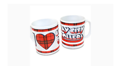 Bay City Rollers I Love (Heart) Bay City Rollers Coloured Brand New Mug
