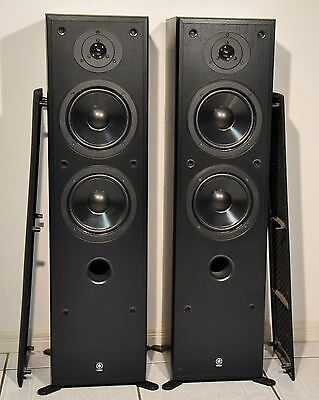 Yamaha ns 50f main stereo floorstanding speakers aud 157 for Yamaha ns 50 speaker pack