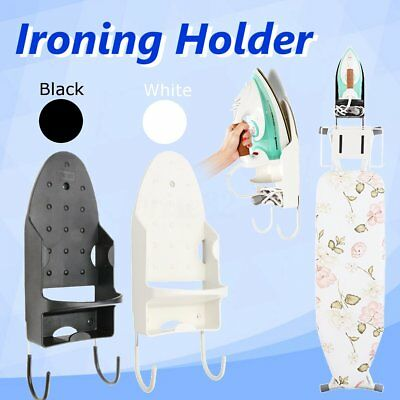 Hotel Home Ironing Board Storage Over The Door Hook Iron Holder Laundry Wall