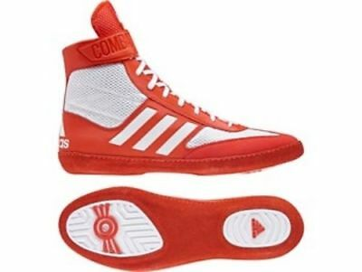 Adidas Combat Speed 5 - Red Wrestling Boots Shoes Adults Mens Pro - BA8008