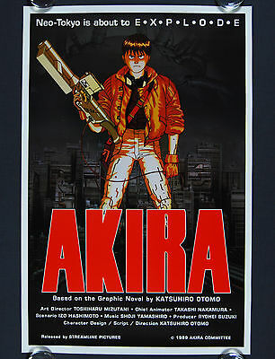 Akira (1989) Original US One Sheet Movie Poster
