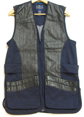 Beretta Uk flag clay shooting skeet vest in Navy mesh back ambidextrous SALE