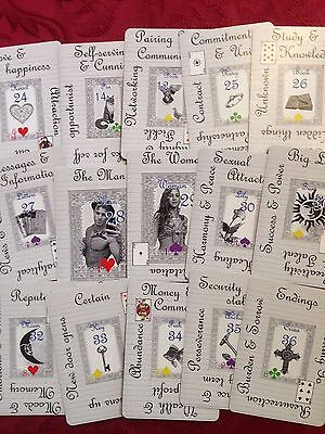 Notebook Lenormand (Tarot, fortune telling cards, oracle )
