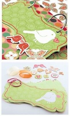 Chatterbox Happy Day Mini Album Kit, Scrapbooking, Crafts, Create, Chipboard