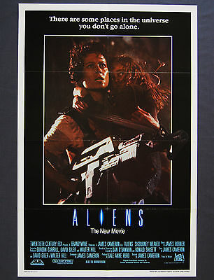 Aliens (1986) Original International One Sheet Movie Poster.